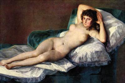 The Naked Maja by Francisco de Goya
