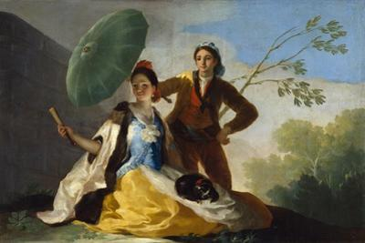 The Parasol, 1777 by Francisco de Goya