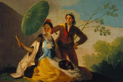 The Parasol. 1777 by Francisco de Goya