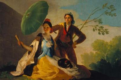 The Parasol. 1777 by Francisco de Goya