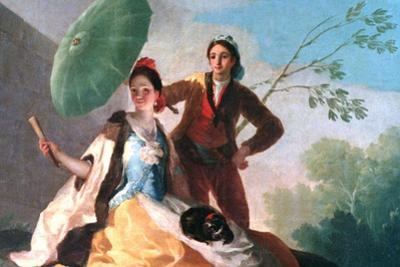 The Parosol, 1777 by Francisco de Goya