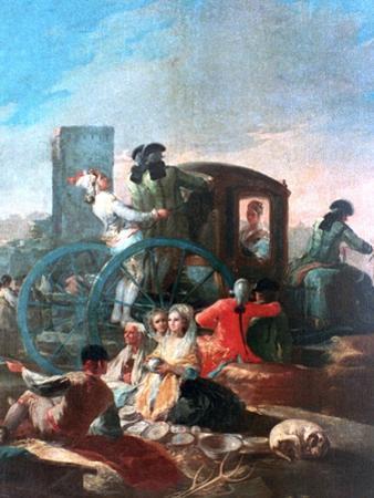The Pottery Vendor, 1778 by Francisco de Goya