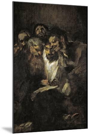 The Reading (Politician) by Francisco de Goya