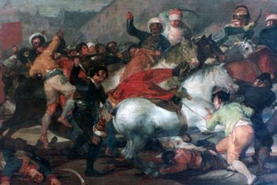 The Second of May 1808: Charge of the Mamelukes, 1814 by Francisco de Goya