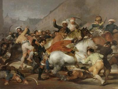 The Second of May, 1808 or The Charge of the Mamelukes, 1814 by Francisco de Goya