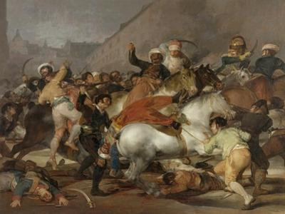 The Second of May 1808 (The Charge of the Mameluke), 1814 by Francisco de Goya