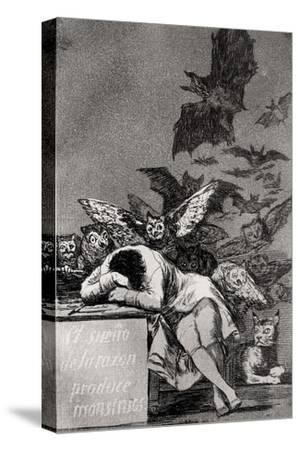 "The Sleep of Reason Produces Monsters, from ""Los Caprichos"""