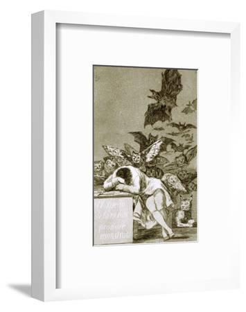 The Sleep of Reason Produces Monsters by Francisco de Goya