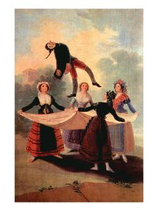 The the Jumping Jack by Francisco de Goya