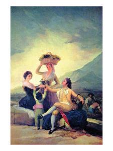 The Vintage by Francisco de Goya