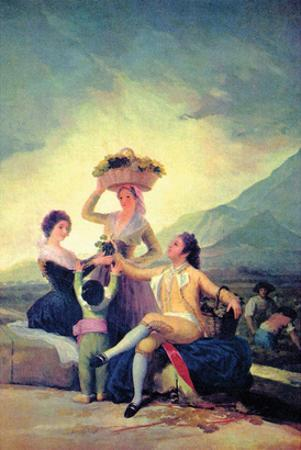 The Vintage by Francisco de Goya