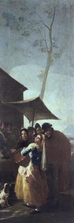 The Walk by Francisco de Goya