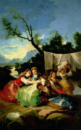 The Washerwomen, Before 1780 by Francisco de Goya