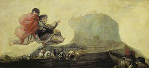 The Witches' Sabbath (Black Painting from the Quinta Del Sordo) 1820-23 by Francisco de Goya