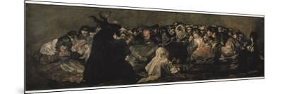 The Witches' Sabbath (Sabbatical Scene) by Francisco de Goya