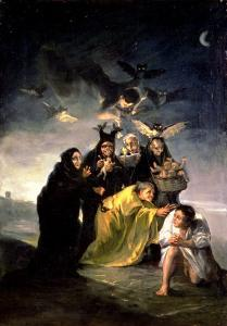 The Witches' Sabbath by Francisco de Goya