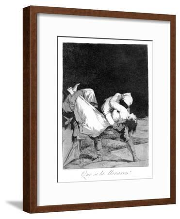 They Carried Her Off!, 1799