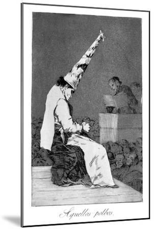 Those Specks of Dust, Perrico the Cripple, 1799 by Francisco de Goya
