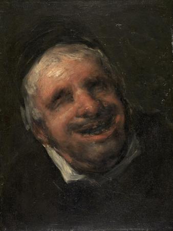 Tio Paquete, 1819-20 by Francisco de Goya