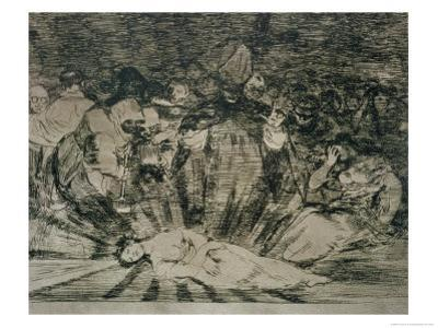 "Truth Has Died, Plate 79 of ""The Disasters of War,"" 1810-14, Published 1863 by Francisco de Goya"