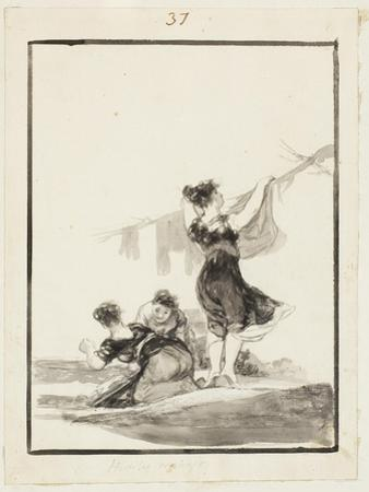 Useful Work by Francisco de Goya