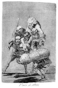 What One Does to Another, 1799 by Francisco de Goya