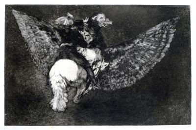 Winged Nonsense, 1819-1823 by Francisco de Goya