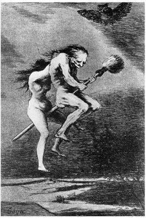 Witch Hunt: Witches, C1799 by Francisco de Goya