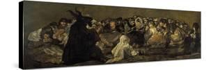 Witches' Sabbath or the Great He-Goat by Francisco de Goya