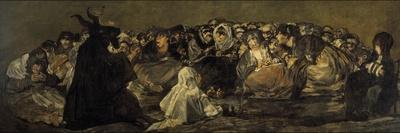 Saturn Devouring His Son-Francisco de Goya-Giclee Print