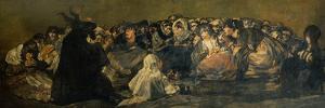 Witches' Sabbath by Francisco de Goya