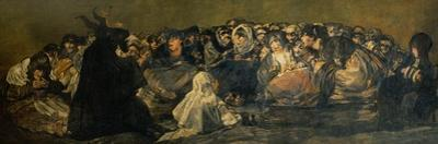 Witches' Sabbath by Francisco de Goya