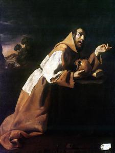 St. Francis Of Assisi by Francisco de Zubaran