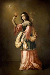 Allegory of Charity, ca. 1655 by Francisco de Zurbar?n
