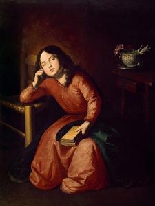 Child Madonna Asleep, 1664 by Francisco de Zurbar?n