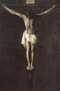 Christ on the Cross by Francisco de Zurbar?n