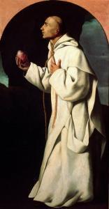 Portrait of the Devout John Houghton by Francisco de Zurbar?n