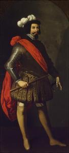 Saint Ferdinand III of Castile, Ca 1630-1634 by Francisco de Zurbar?n