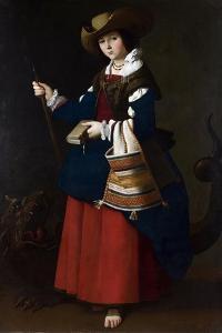 Saint Margaret, 1630-1634 by Francisco de Zurbar?n