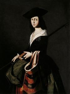 Saint Margaret by Francisco de Zurbar?n
