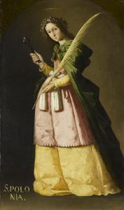 Sainte Apolline by Francisco de Zurbar?n