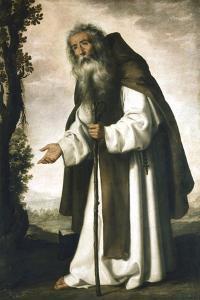 St Anthony, C1618-1664 by Francisco de Zurbar?n