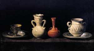 Still Life by Francisco de Zurbar?n