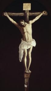 The Crucified Christ by Francisco de Zurbar?n
