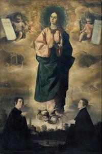 The Immaculate Conception by Francisco de Zurbar?n