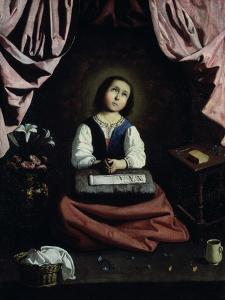 The Young Virgin, C1632-33 by Francisco de Zurbar?n