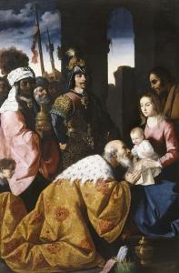 Adoration des mages by Francisco de Zurbarán