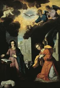 Annunciation, 1638 by Francisco de Zurbaran