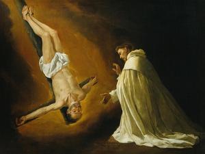 Appearance of Saint Peter to Saint Peter Nolasco by Francisco de Zurbarán