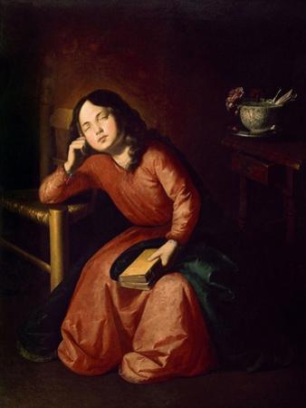 Child Madonna Asleep, 1664